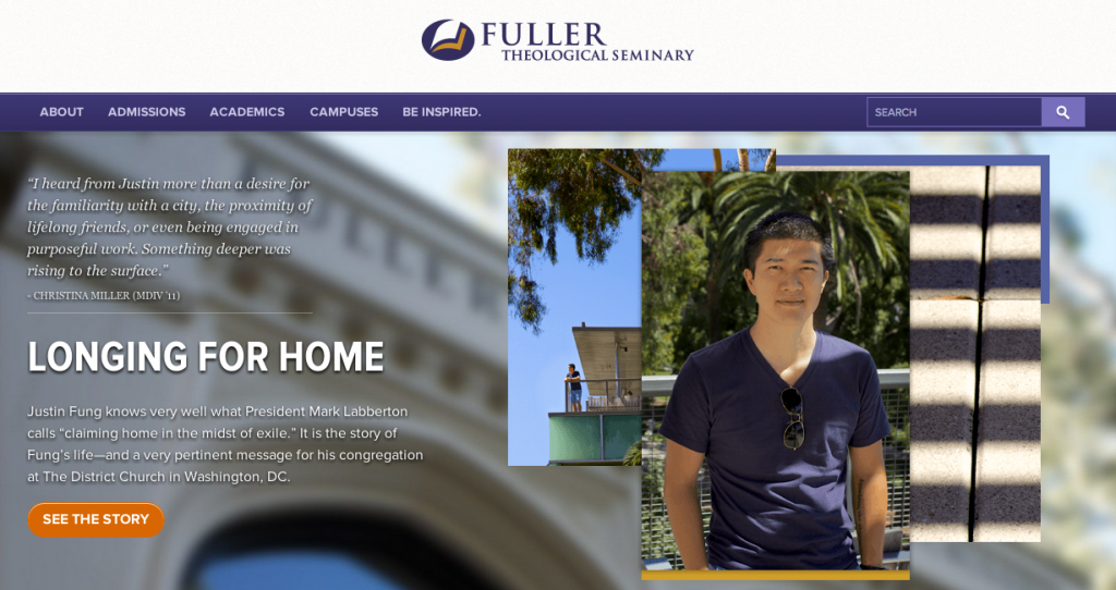 Fuller Home Screen