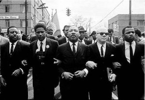 MLK arm in arm