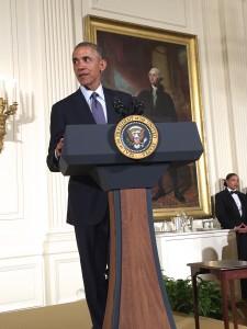 President Obama at Easter Prayer Breakfast